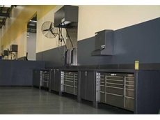 Actisafe's automotive and component workshop cabinets