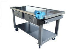 Bunded mobile workbenches from Actisafe