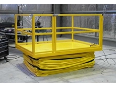 Actisafe heavy duty triple scissor lift table