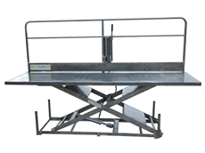 Height adjustable work platforms