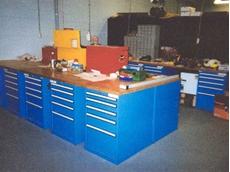 ActiSafe creates customised ergonomic workspaces for use as multifunctional workbenches
