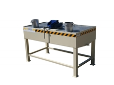 Oil Drain Bench for safe filter inspection