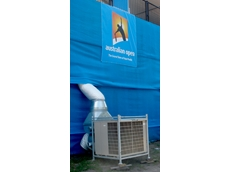 Air conditioning at The Australian Open