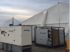 Active Air installed two 90kW packaged unit air conditioners at the White Bay temporary terminal