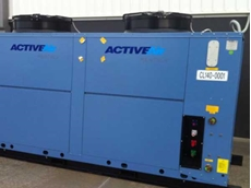 Active Air Rentals installed and commissioned their new 140kW slimline chiller for Astral Pool