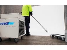 Electric Blower Portable Heater at the ADF Site