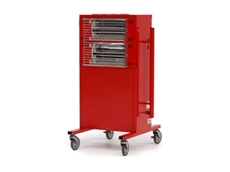 HE RAD industrial electric radiant heaters are ideal for heating large spaces and alfresco areas