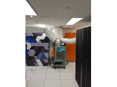 Vocus Communications' data room being cooled by Active Air