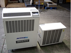 Portable split air Conditioners now available from Active Air Rentals