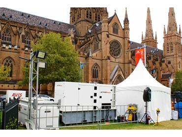 Sydney Festival Air Conditioning by Active Air Rentals