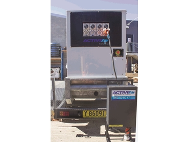 Trailer Skid Generator with Distribution Board