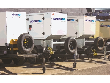 Trailer Skid Generators