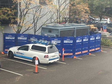 Temporary chiller from Active Air keeps Laverty lab operational