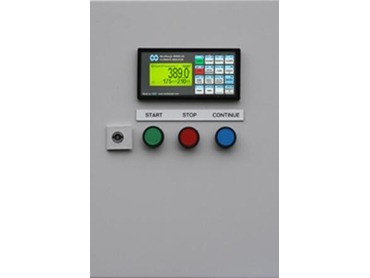 Impact Weigher MW94A flowmeter control cabinet