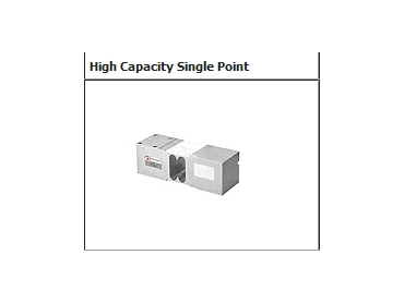 High capacity single point load cells
