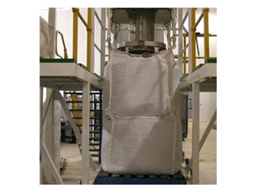Bulk Bag Filling Station with operator platform