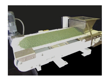 Weigh Belt Conveyor open design