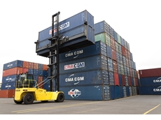 ANL Container Park upholds eco-friendly values with Adaptalift Hyster empty container handlers