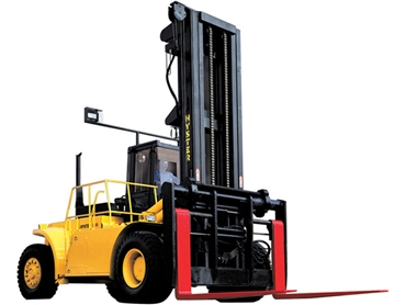 Forklifts with ergonomic features that get the job done faster