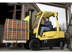 Hyster H50CT pneumatic tyre forklift