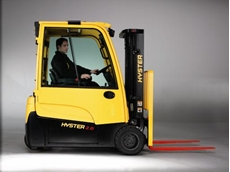 New generation Hyster Electric Trucks have a very low cost of ownership
