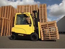 Hyster electric forklifts are reliable and cost efficient