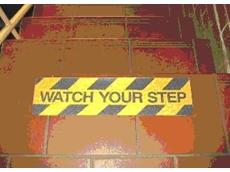 Anti Slip Tread Permanent Matting from Adept Industrial Solutions