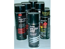 Range of 3M spray adhesives and cleaners available from Adept Industrial Solutions