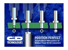 Perfect position converter pin technology