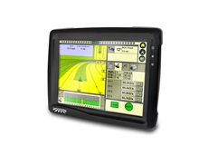 The FM-1000 Integrated Touch Screen Display precision agriculture system from Advanced Farming Systems