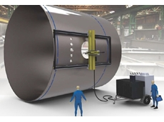 The portable CNC plasma cutters can be transported to the workpiece, which is a very common scenario in industries working with large machinery