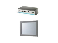 UNO-21xx series is a range of Intel Atom based embedded automation computers and the FPM-2000 series is an industrial grade flat panel monitor