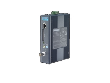 1-ch DIN-rail H.264 IP Video Server with integrated management software