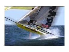 Aeronaut's automated cutter's can easily handle fabrics such as sailcloth.