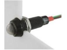 614 series tri-colour LED panel indicator