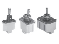 Environmentally sealed military toggle switches