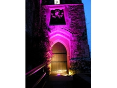 LEDs attract visitors to award winning UK castle