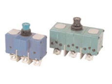 Miniature ambient compensated circuit breakers