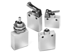 P6-3 subminiature sealed limit switches have a robust aluminium housing