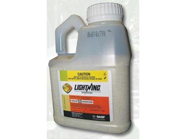 Lightning Herbicide to control broadleaf and grass weeds