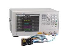 Agilent's E4982A LCR meter