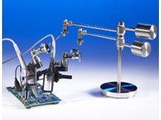 Oscilloscope probe positioners