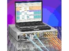 Dual-purpose SAN tester and protocol analyser
