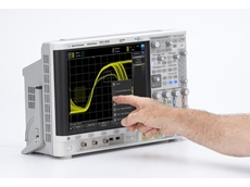 Touchscreen oscilloscope