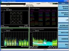 X-Series measurement application automates LTE measurements