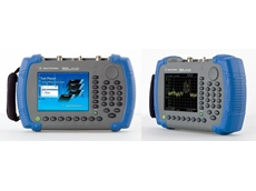 New handheld spectrum analysers from Agilent Technologies.