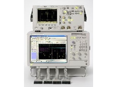 Agilent analyser with 3.30 View Scope software.