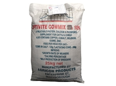High performance protein and phosphate Pasture Supplement, Cowmix helps you obtain improved cattle health
