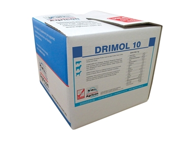 Drimol- available in 20,40, 100 and 1000kg packs