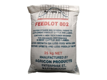 Feedlot 802 Vitamin and Mineral Premixes from Agricon Products